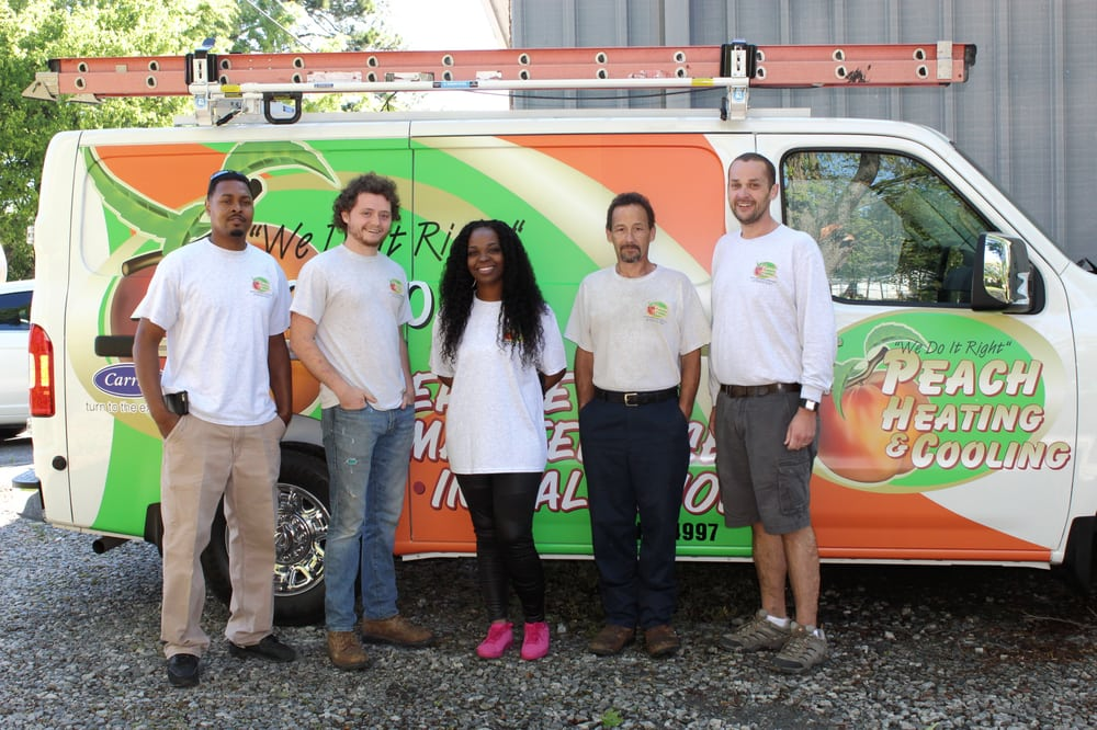 Peach Heating & Cooling: 205 Fountain St, Fort Valley, GA