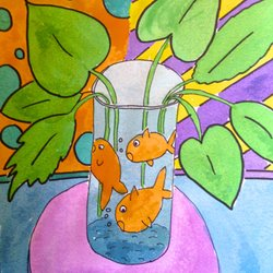 photo of arthouse kids san jose ca united states matisse goldfish with