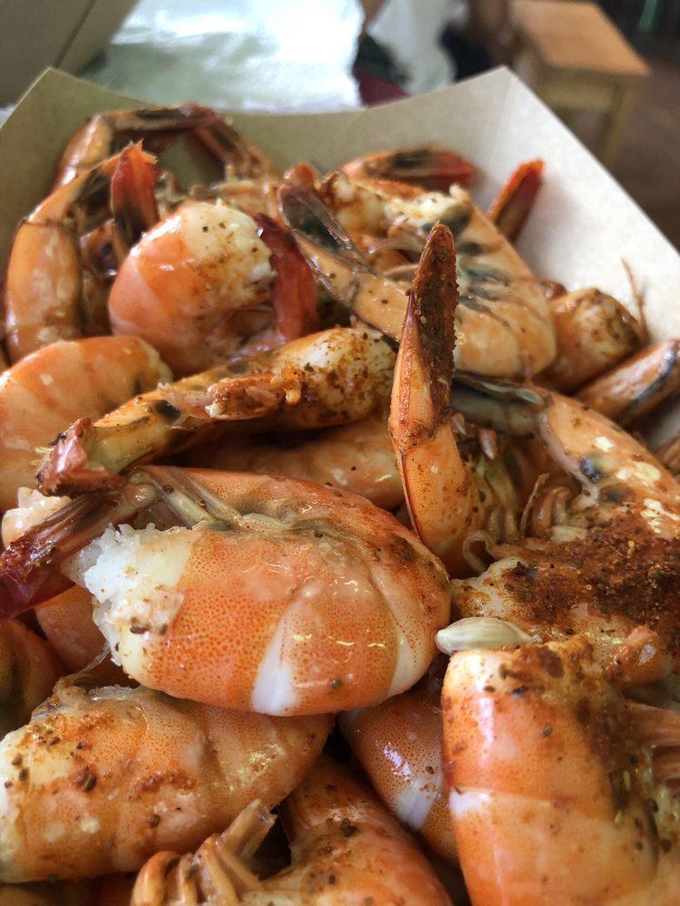 Fish Hut Grill: 301 Mangrove Blvd, Emerald Isle, NC