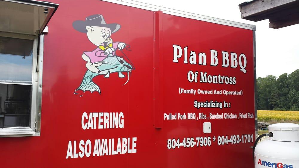 Plan B BBQ: 17055 Kings Hwy, Montross, VA