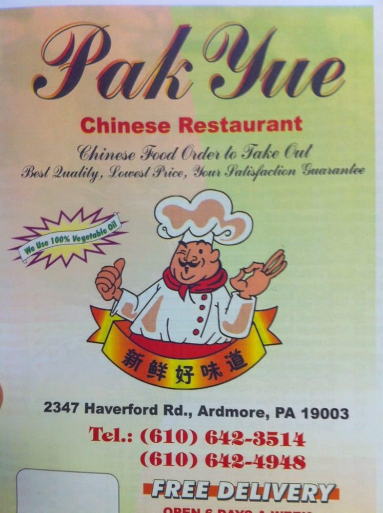 Pak Yue Chinese Restaurant