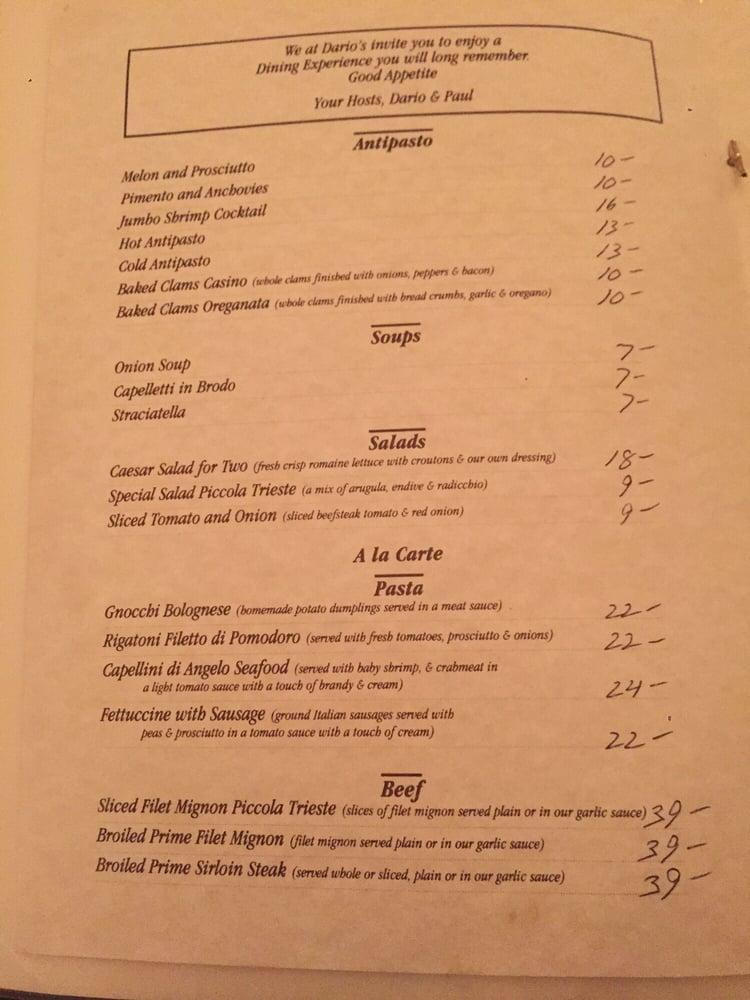 A And J Restaurant Rockville Menu
