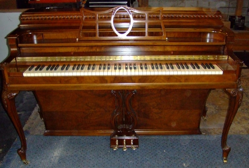 Beautiful small upright piano we refinished yelp for G service bagnolo in piano