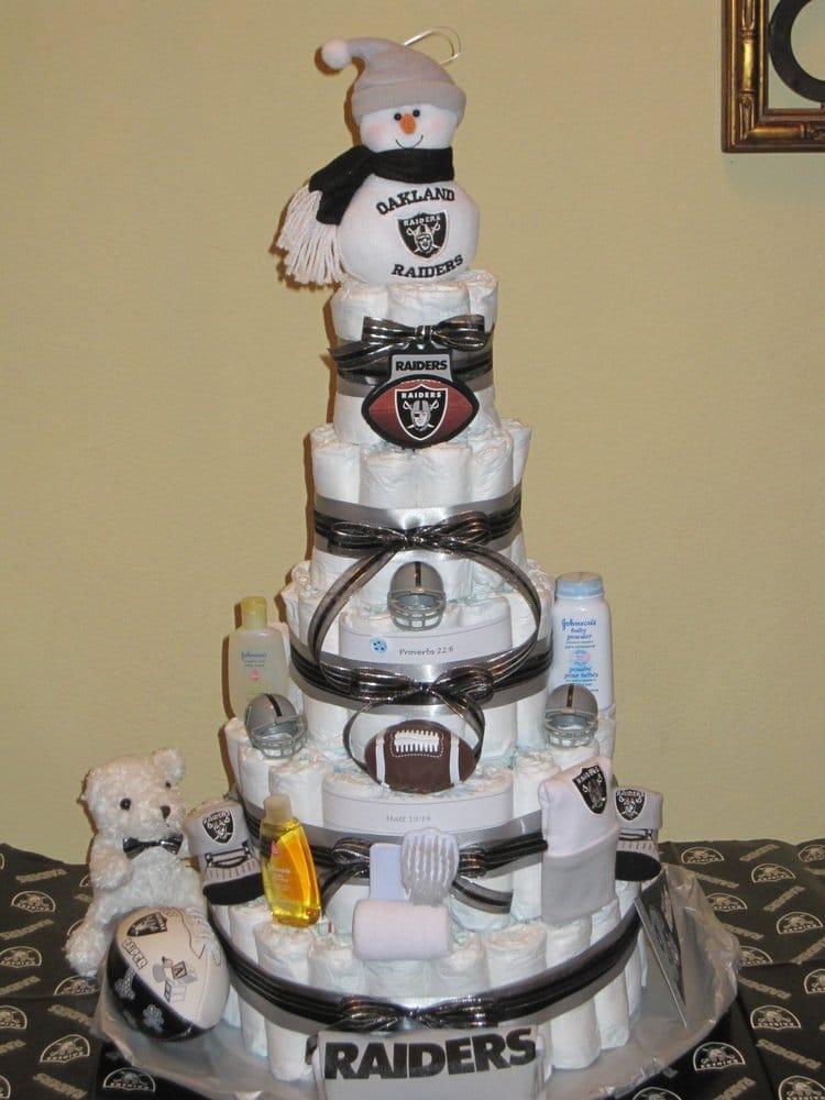 Oakland Raiders Specialty Diaper Cake Yelp