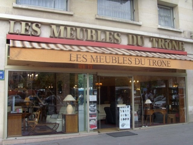 les meubles du tr ne m bel 18 rue vignoles p re lachaise paris frankreich telefonnummer. Black Bedroom Furniture Sets. Home Design Ideas