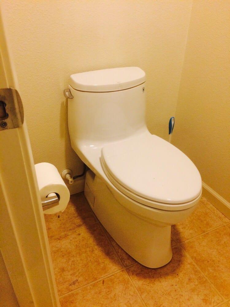 Toto toilet installation. - Yelp
