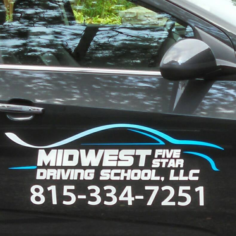 Midwest Five Star Driving School: 1301 W Diggins St, Harvard, IL