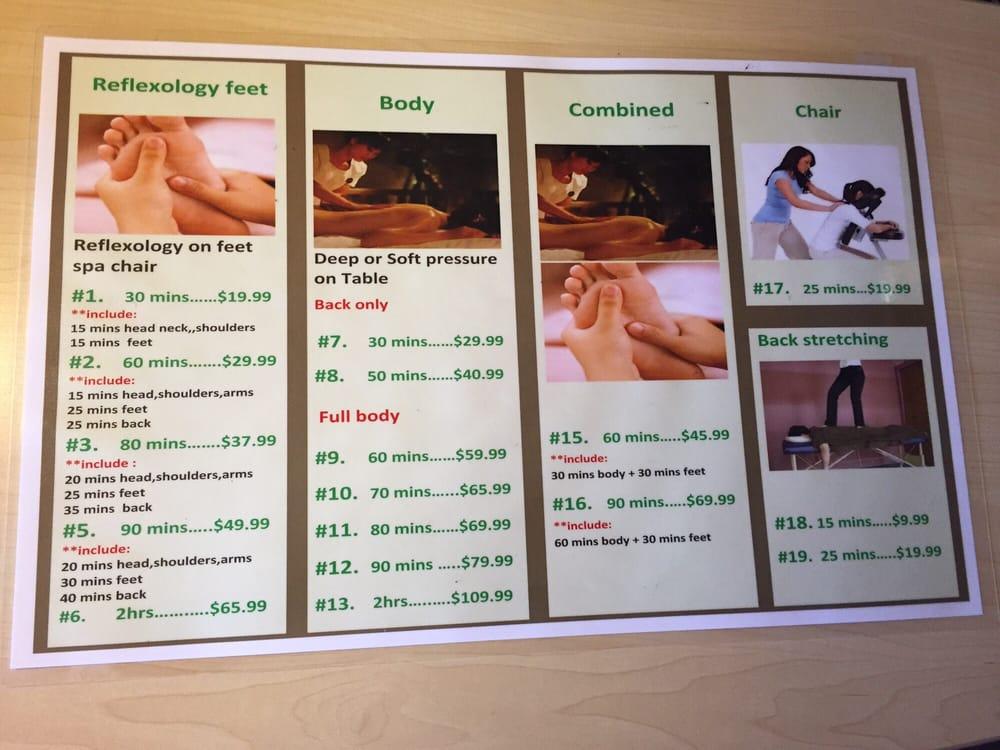 Happy feet massage dallas