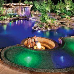 Photo Of Blue Haven Pools Spas Ontario Ca United States Lagoon