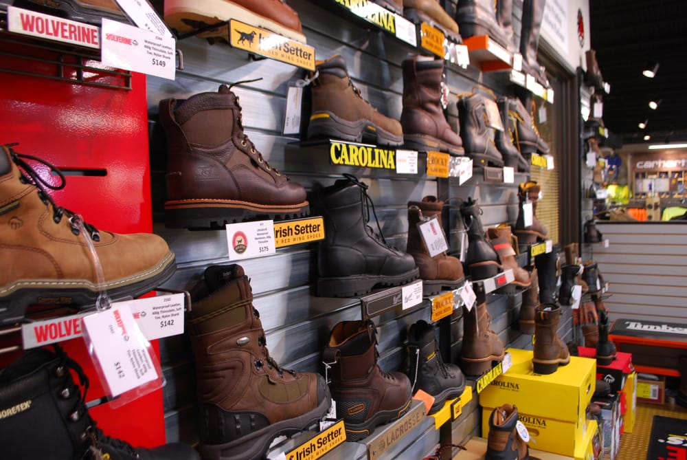01f1e1b8cb0 Our wide assortment of boots include brands like Carhartt, Wolverine ...