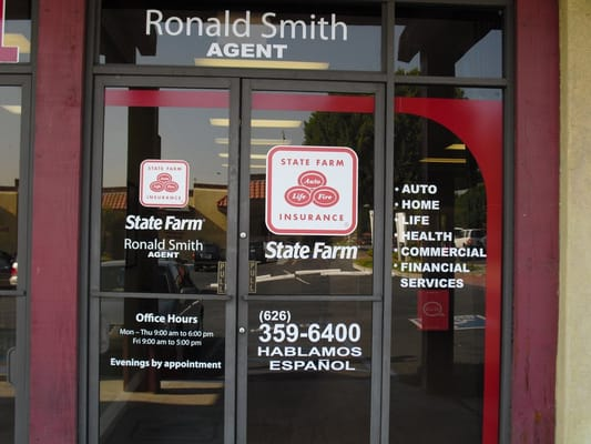 Ronald Smith State Farm Insurance Agent Closed Insurance