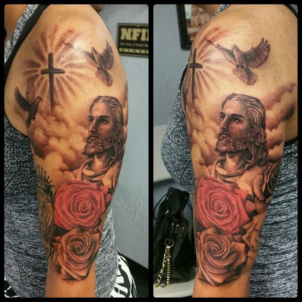 Explozo's Custom Tattoo's: 715 5th St, Orland, CA