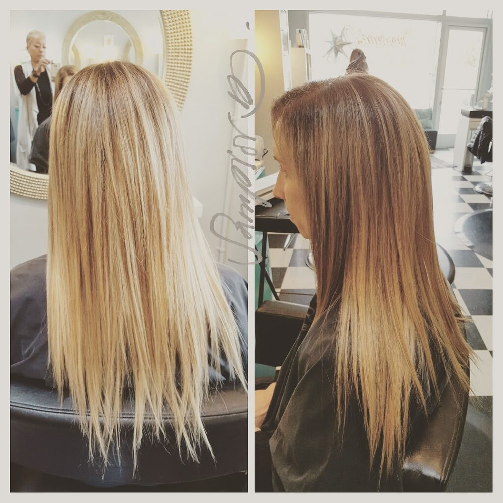 Seamless Clip In Extensions By Justine Instagramsampiorbeauty Yelp