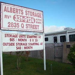 Superieur Alberts Storage   Self Storage   2835 Q St, North Highlands, CA   Phone  Number   Yelp