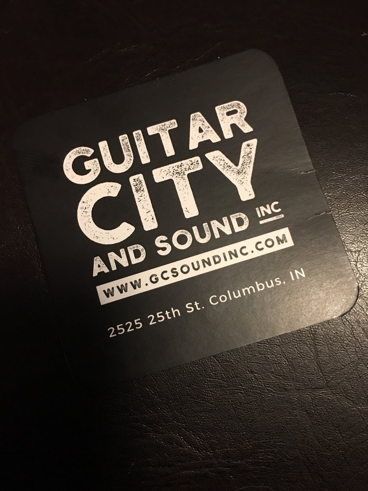 Guitar City & Sound: 2525 25th St, Columbus, IN