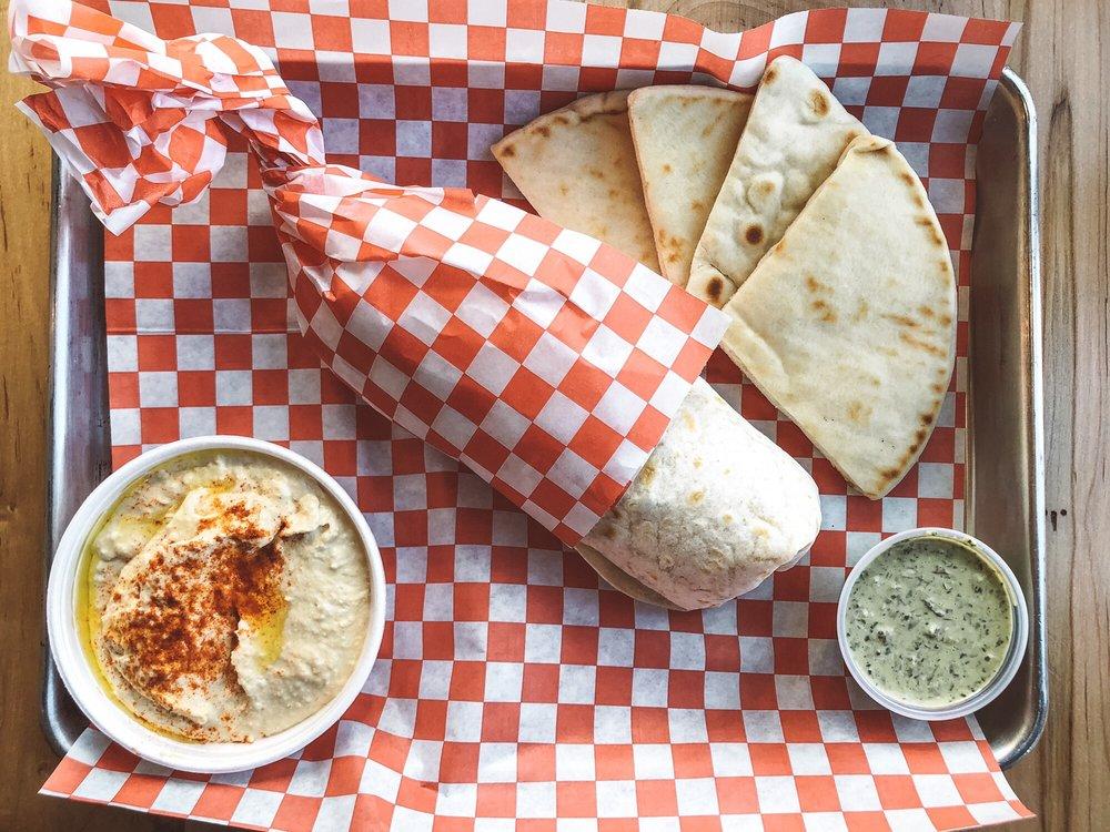 Peño Mediterranean Grill: 3494 Western Blvd, Jacksonville, NC