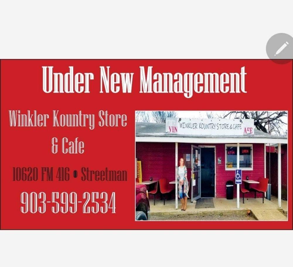 Winkler Kountry Store: 10620 Fm 416, Streetman, TX