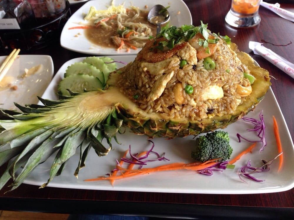 Pineapple fried rice yelp for Ano thai lao cuisine menu