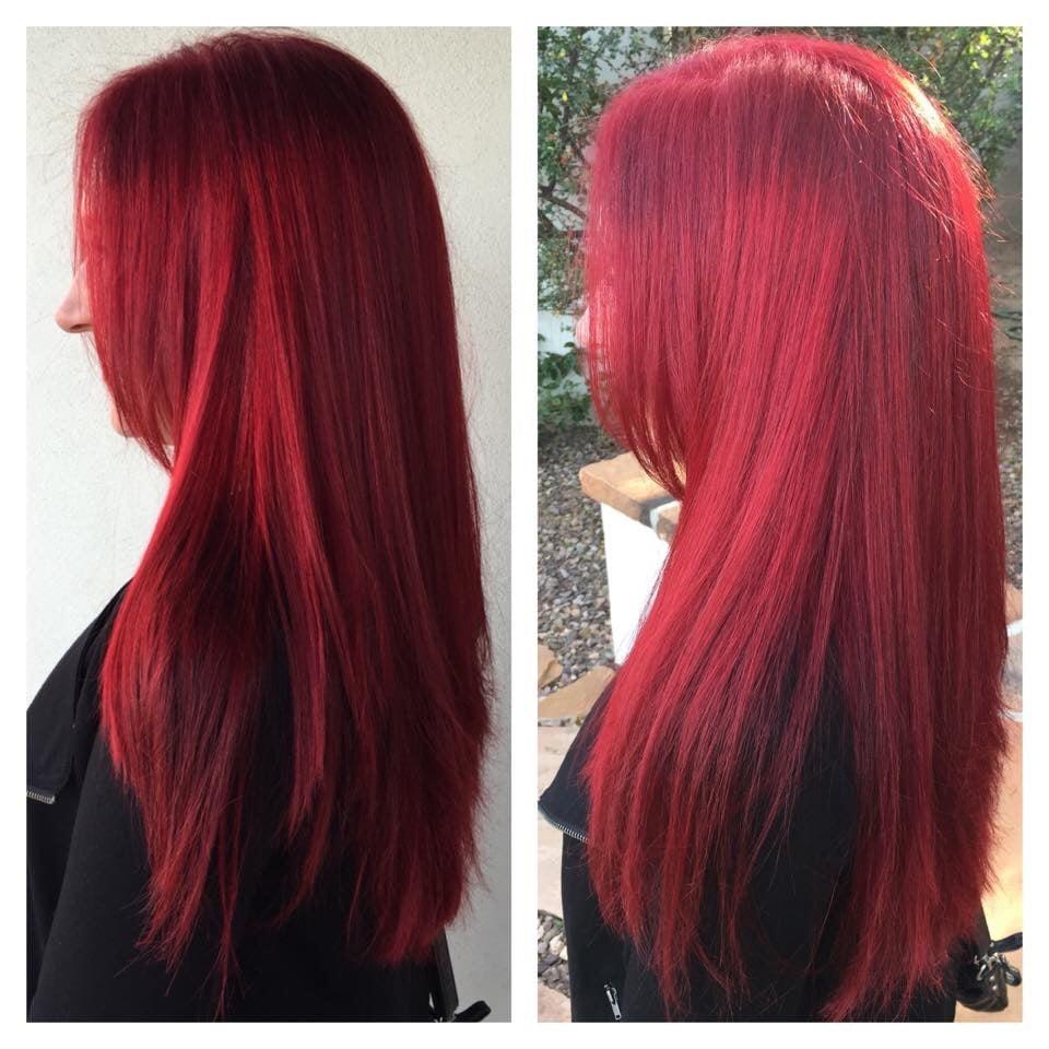 Plumberry Raspberry Hair Color Raspberry