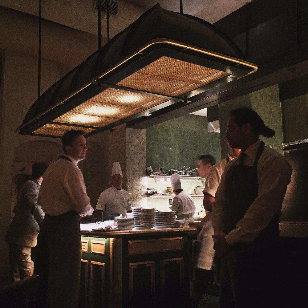 Photo of le coucou new york ny united states open kitchen