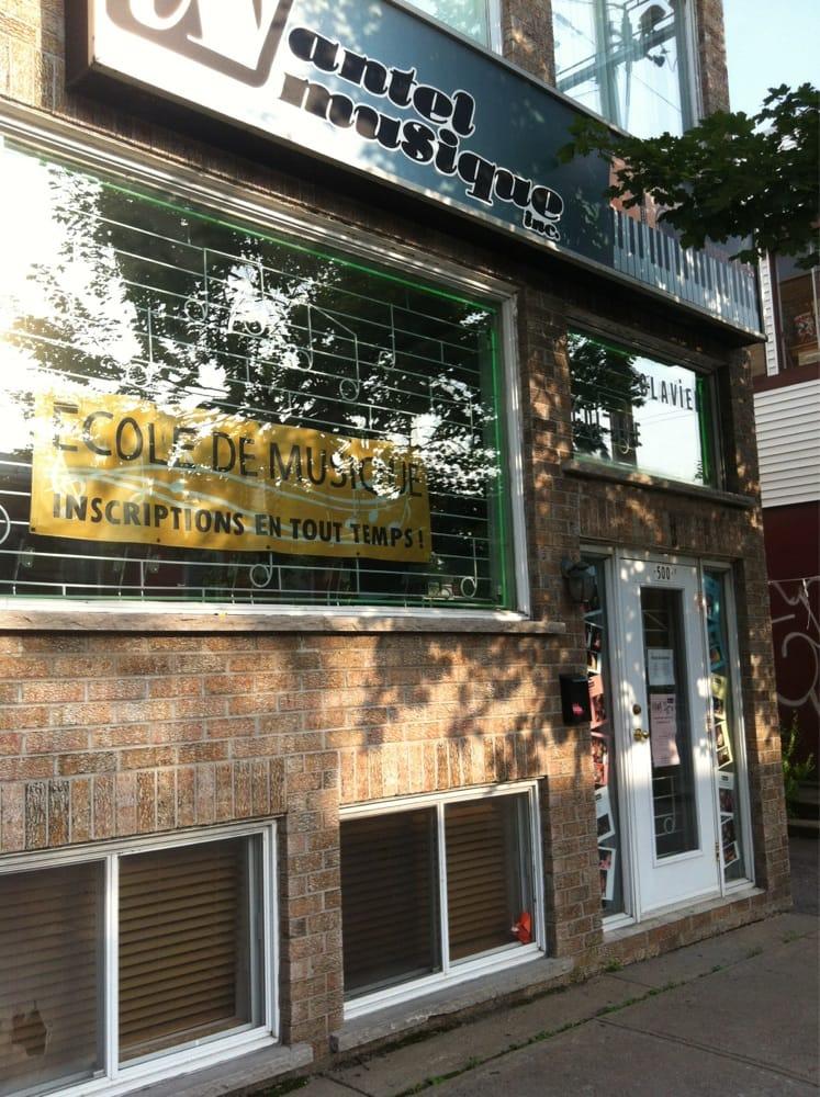 Nantel musique specialty schools 4590 boulevard st for Boutique meuble rue st laurent montreal