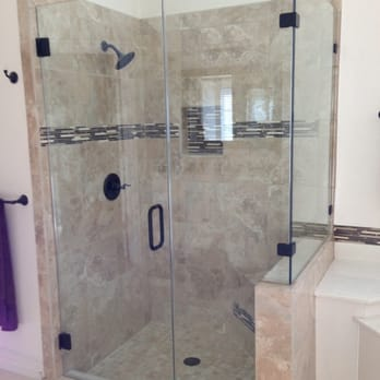 Photo of Oasis Bath and Glass - Euless, TX, United States. Our glass