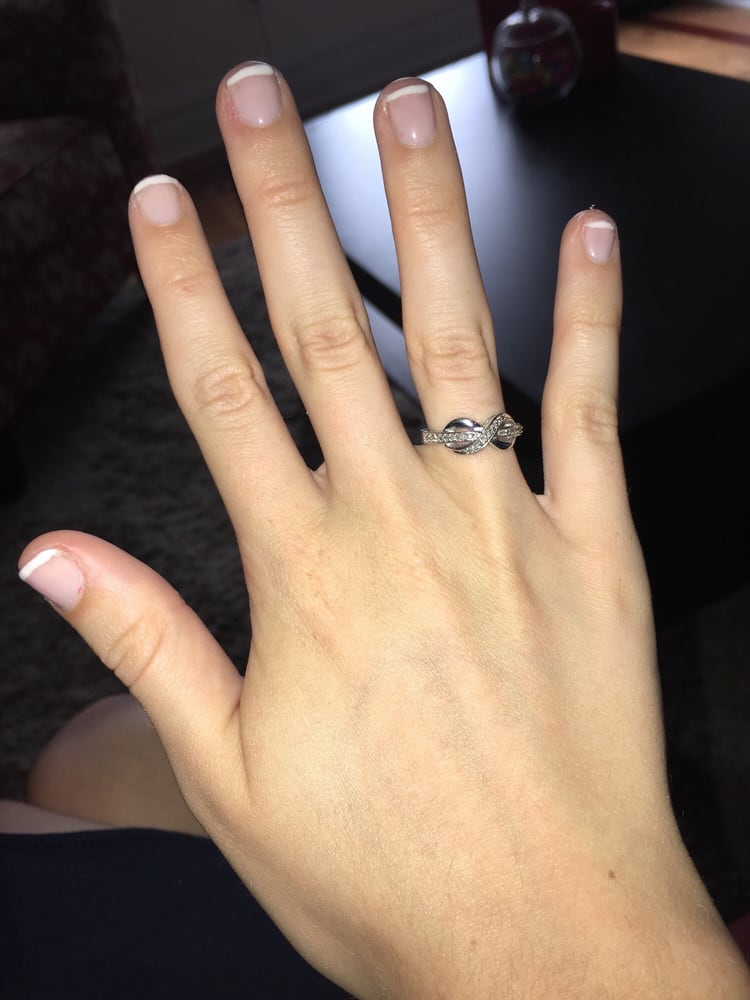 Photo Of Y Nails New York Ny United States Uneven Lines And