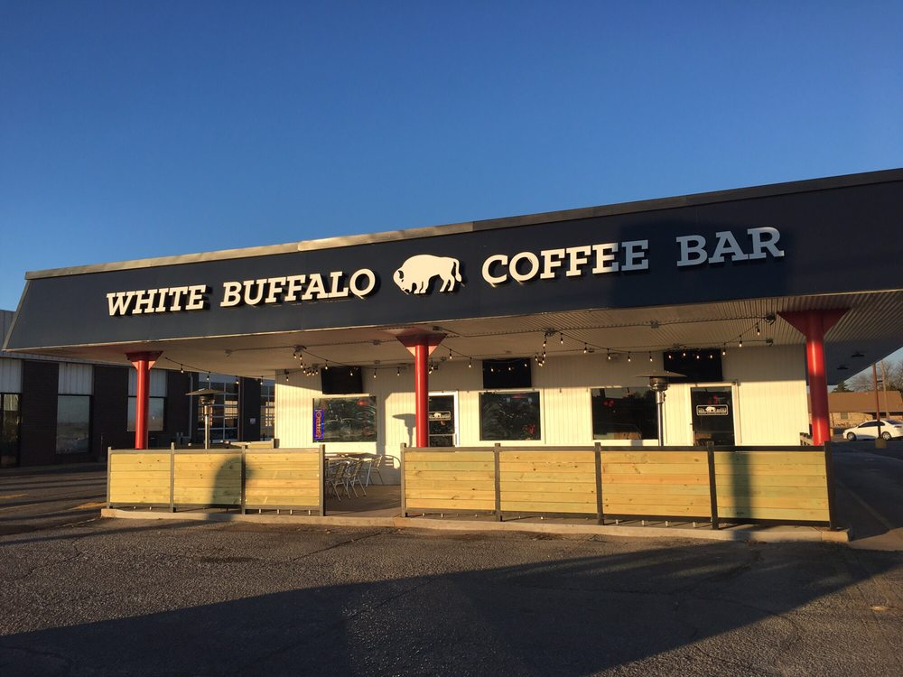 White Buffalo Coffee Bar & Drive Thru: 2001 N Main St, Altus, OK