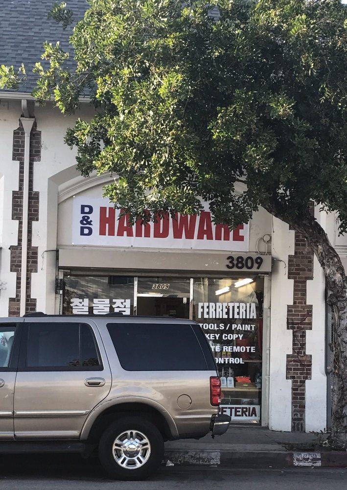 D & D Hardware: 3809 W 3rd St, Los Angeles, CA