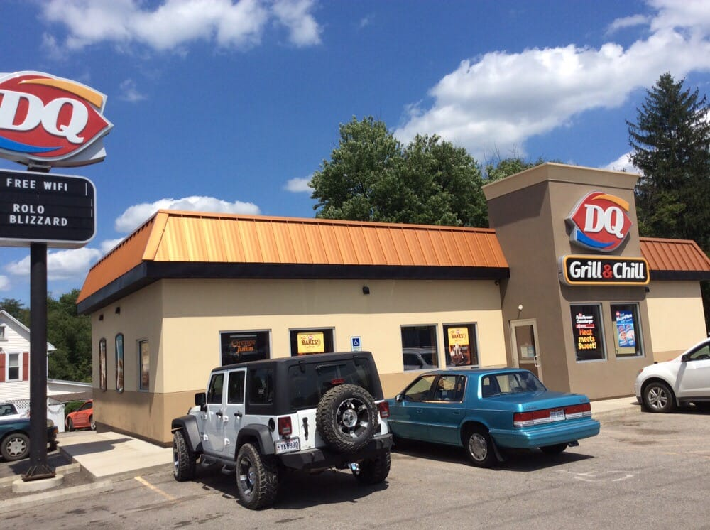 DQ Grill & Chill Restaurant: 100 North St, Woodsfield, OH