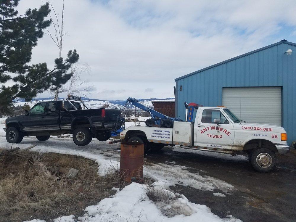 Towing business in Ellensburg, WA