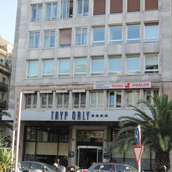 Tryp orly hotels zaragoza plaza 4 donostia san for Parking orly garage jas