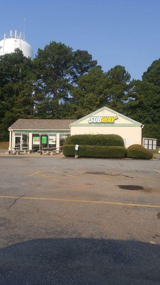 Subway: 6161 Hwy 92, Acworth, GA