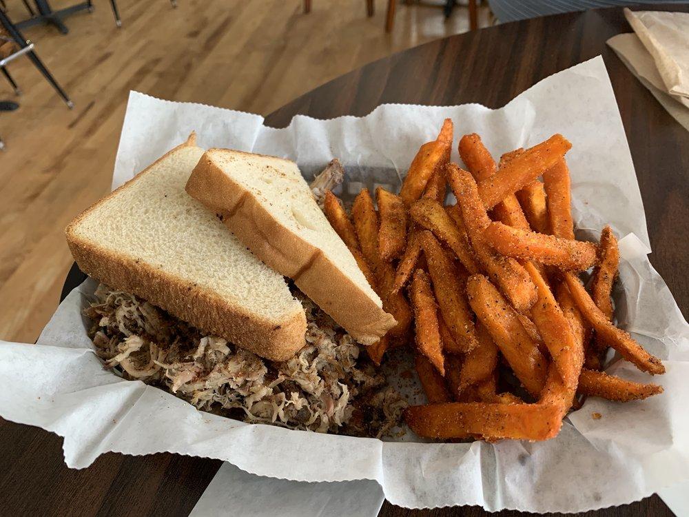 Thin-Que-Line BBQ: 13241 Asheville Hwy, Inman, SC