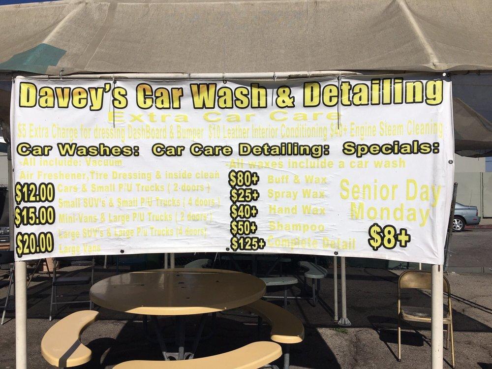 Davey's Car Wash & Detailing: 410 N Long Beach Blvd, Compton, CA