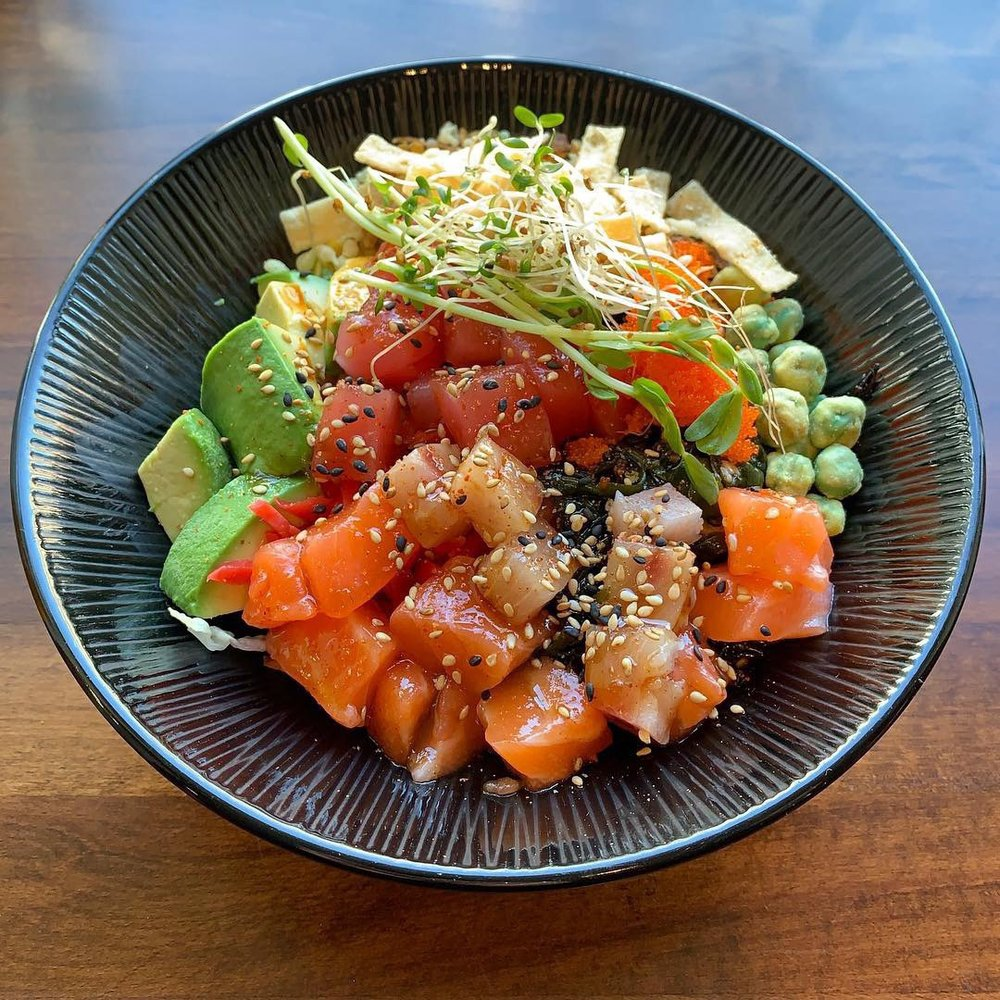 Food from Crunchy Poké