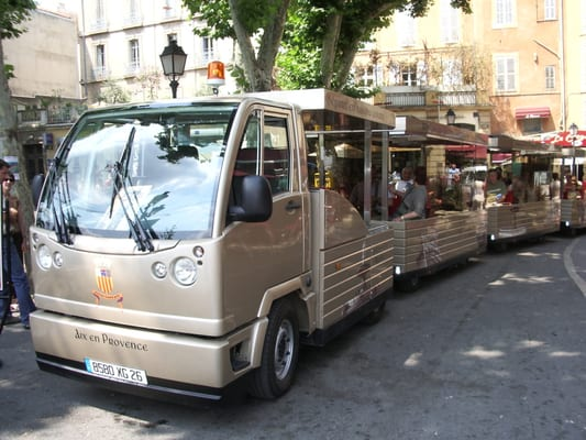 le mini tram d aix en provence excursion 6 cours mirabeau aix en provence num ro de. Black Bedroom Furniture Sets. Home Design Ideas