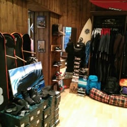 Surfer's shop