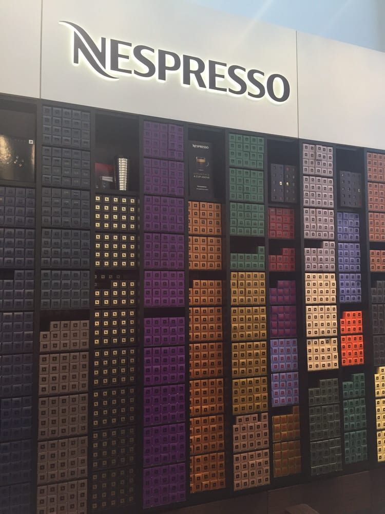 They have a whole nespresso bar section yelp for Sur la table 6 quart
