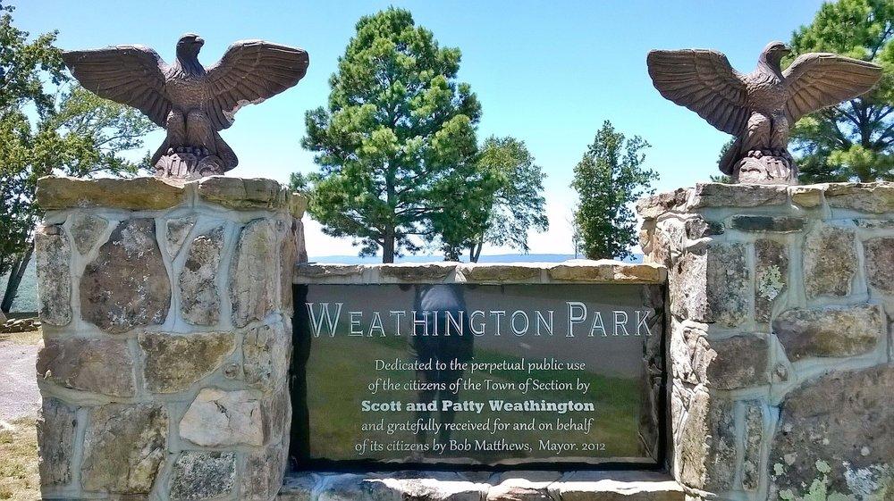 Weathington Park: 6230 Tammy Little Dr, Section, AL