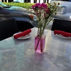Photo Of Meze Turkish Restaurant Miami Beach Fl United States Table