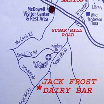Jack Frost Dairy Bar Reviews Ice Cream Frozen Yogurt - Where are the dairyon the us map