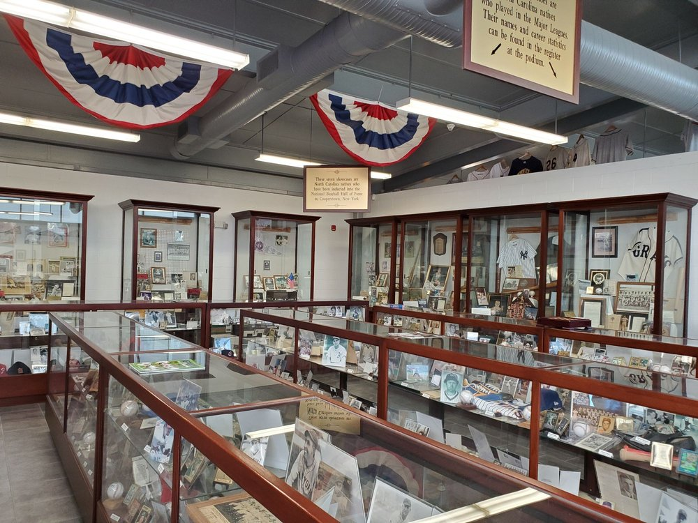 North Carolina Baseball Museum: 300 Stadium St, Wilson, NC