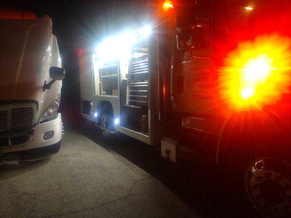 Okie's Towing & Truck Repair: 407 Brown, Kettleman City, CA