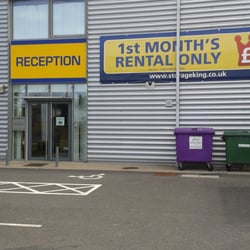Photo of Storage King - Epsom Surrey United Kingdom & Storage King - Utilities - Blenheim Road Epsom Epsom Surrey ...
