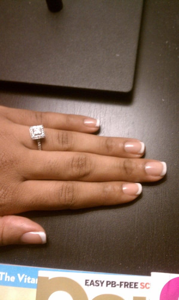 gel polish french manicure no acrylic / natural nails - Yelp