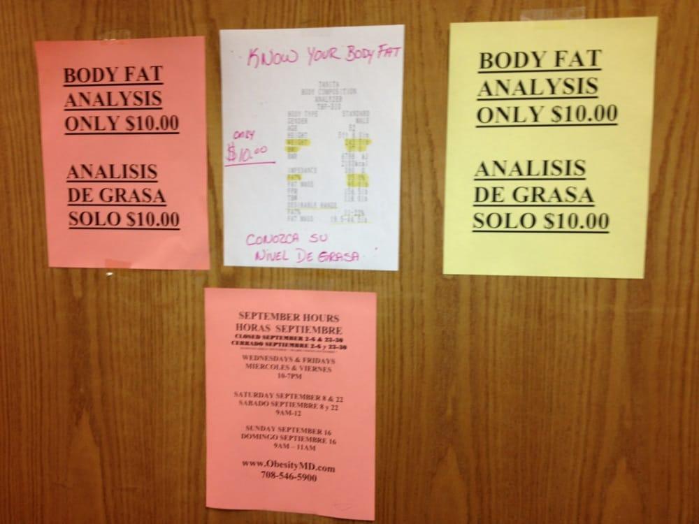 Octavio Lopez Weight Loss Center: 6029 W Cermak Rd, Cicero, IL