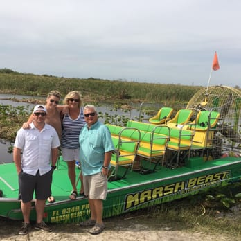 Photo Of Marsh Beast Airboat Tours Vero Beach Fl United States