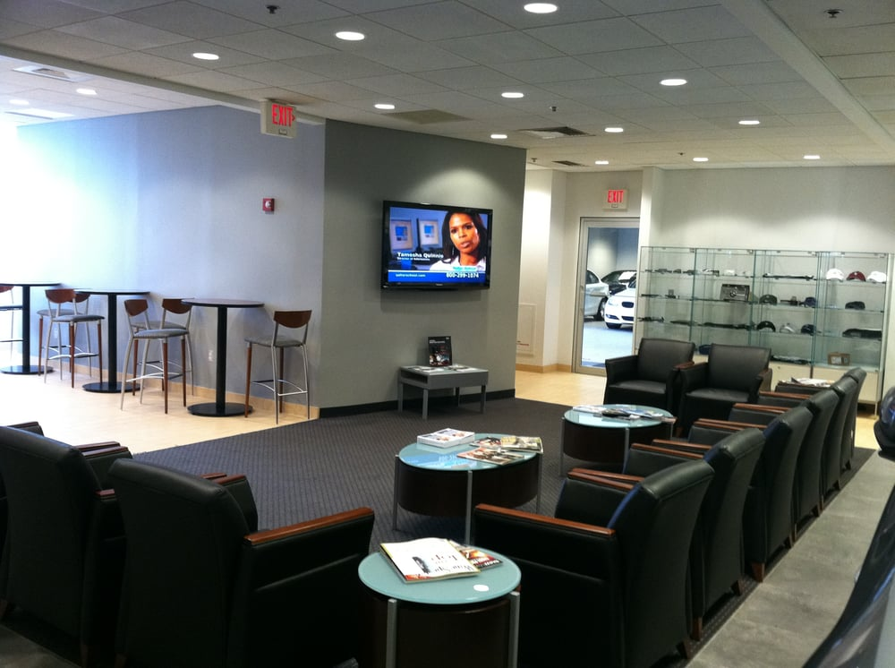 Aaa Towing Cost >> Customer Waiting Area at BMW of Boston - Yelp