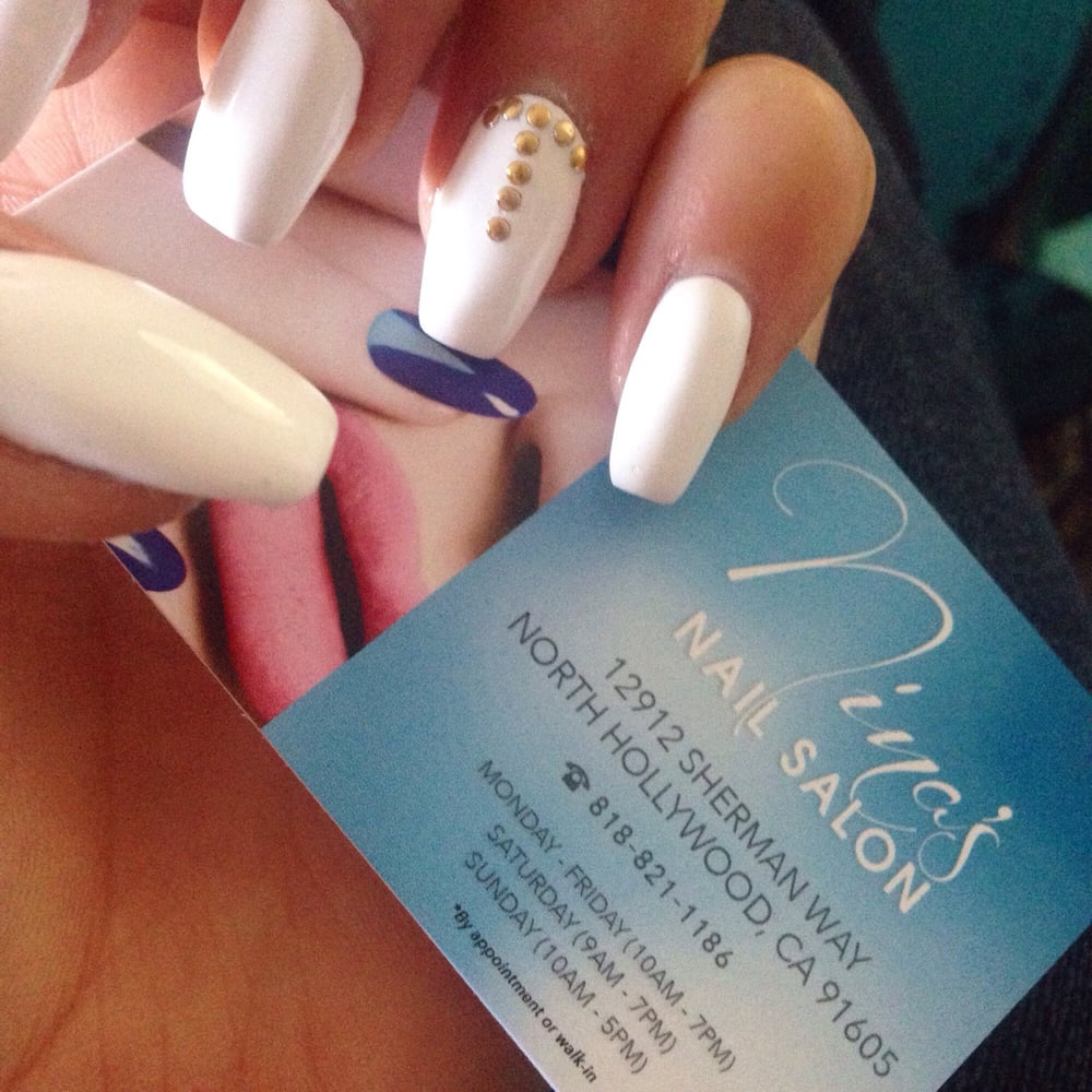 I love my nails! Such a great job and Nina always has the best ...